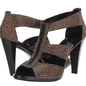 Michael Michael Kors Berkeley Strap Glitter shoes